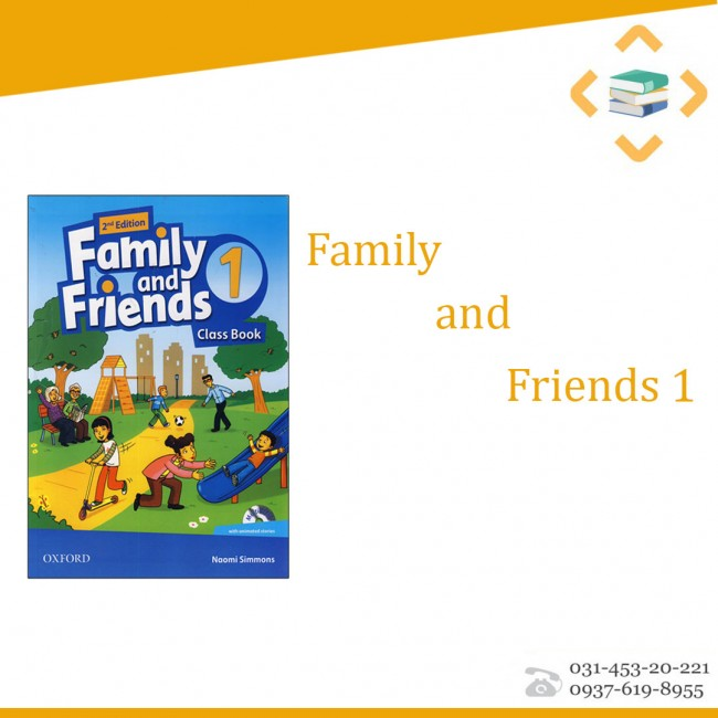 Family and friends 1+work book+CD