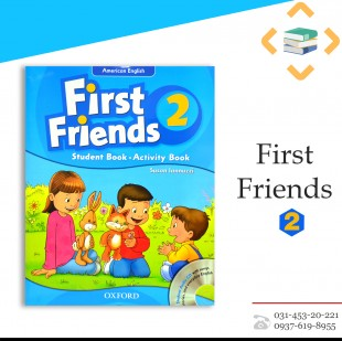 First Friends 2+Work book+CD