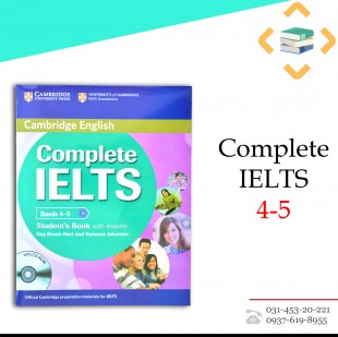 کتاب Complete IELTS 4-5 + Work Book + 2 CD