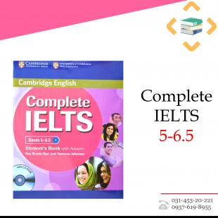6.5-Complete IELTS 5 + Work Book + 2CD