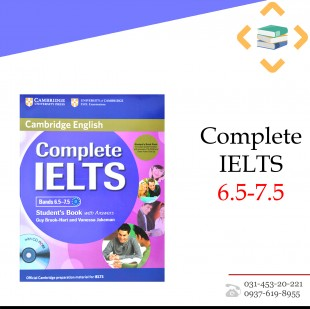 کتاب Complete IELTS 6.5-7.5 + Work Book + 2CD