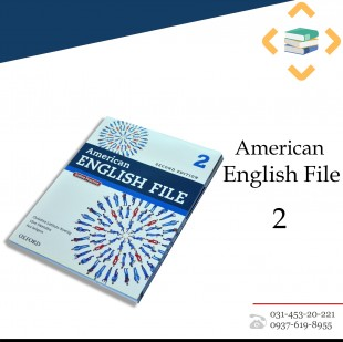 American English File 2 + Student Book+Work book+CD+DVD