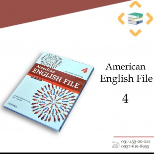 American English File 4 + Student Book+Work book+ CD + DVD