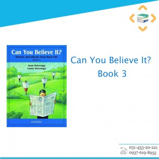 Can You Believe It? Book 3+CD