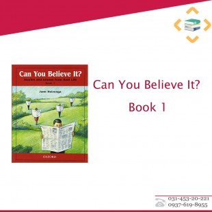 Can You Believe It? Book 1+CD