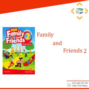 Family and friends 2+work book+CD