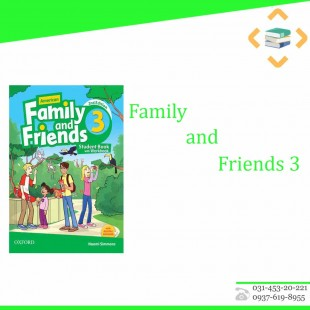 Family and friends 3+work book+CD