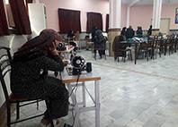 تأمین پوشاک مورد نیاز زنان و کودکان آسیب دیده از سیل با همکاری آموزش فنی و حرفه ای استان گلستان