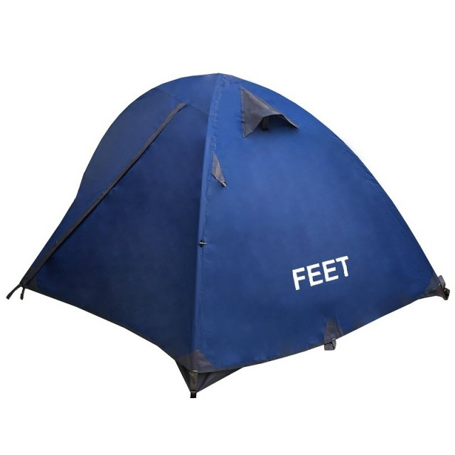 چادر کوهنوردی دو نفره Feet رنگ آبی