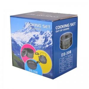 ظروف کوهنوردی Cooking Set مدل DS-308