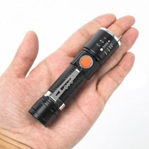 چراغ قوه مسافرتی شارژی USB مدل 616-T6
