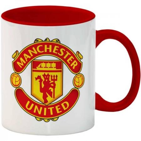 ماگ انارچاپ طرح منچستر یونایتد مدل MU024 AnarChap Manchester United MU024 Mug