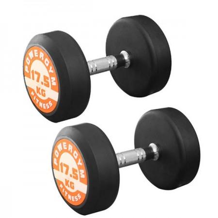 دمبل پاورجیم مدل 2018 وزن 17.5 کیلوگرمی بسته 2 عددی-dmbl-paorjim-model-2018-weight-17/5-kilogrmi-basteh-2-count