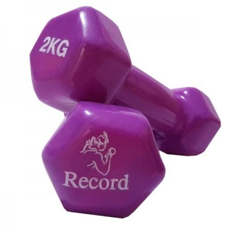 دمبل مدل رکورد 2 کیلوگرمی بسته 2 عددی-dmbl-2-kilogrmi-model-rkord-code-2-basteh-2-count