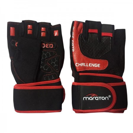 دستکش بدنسازی مردانه ماراتن مدل D03