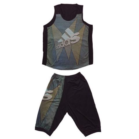 ست تاپ و شلوارک ورزشی مردانه کد adidas | A8