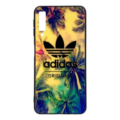کاور آی پفت طرح آدیداس مدل G1 مناسب برای گوشی موبایل سامسونگ Galaxy A7 2018 غیر اصل