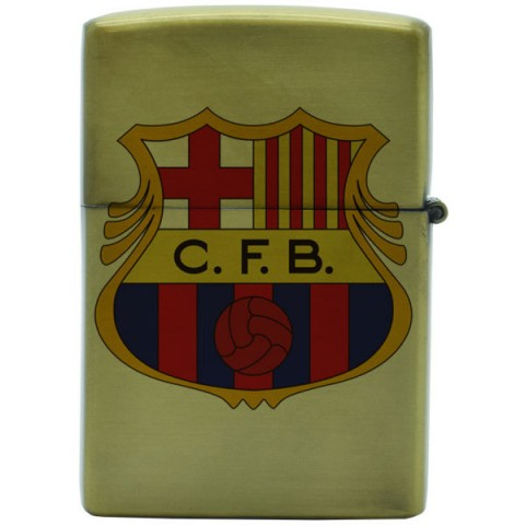 فندک زیپو طرح بارسلونا