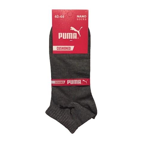 جوراب مچی مردانه رنگ ملانژ تیره- پوما