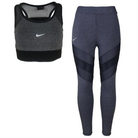 ست نیم تنه و لگینگ ورزشی زنانه NIKE کد U444