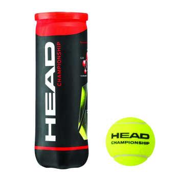 توپ تنیس هد مدل Championship بسته 3 عددی