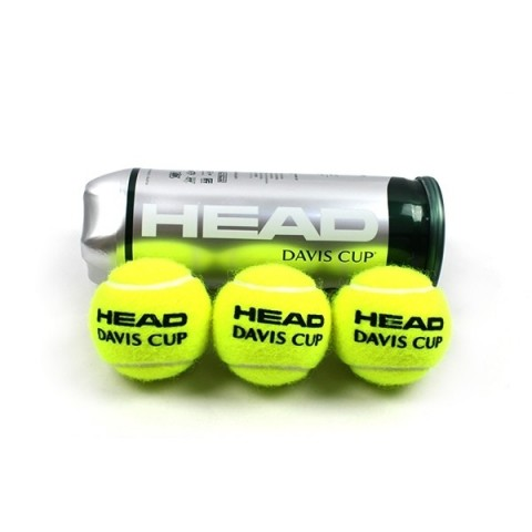 بسته 3تایی توپ تنیس Head مدل Davis Cup