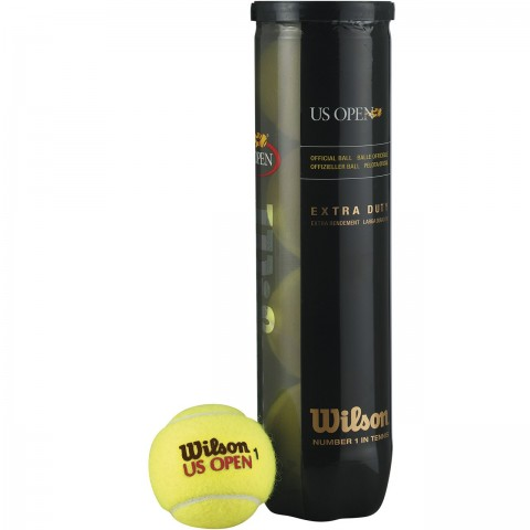 توپ تنیس ویلسون مدل US Open بسته 4 عددی