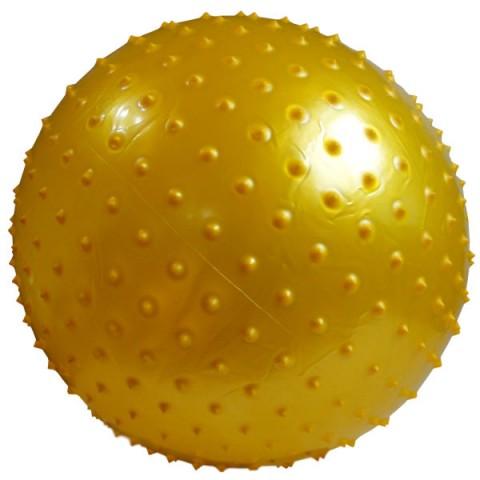 توپ پیلاتس عاج دار مدل Aerobic Ball قطر 25 سانتی متر سایز S رنگ طلایی
