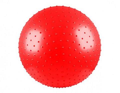 توپ پیلاتس عاج دار مدل Aerobic Ball قطر 25 سانتی متر سایز S رنگ قرمز