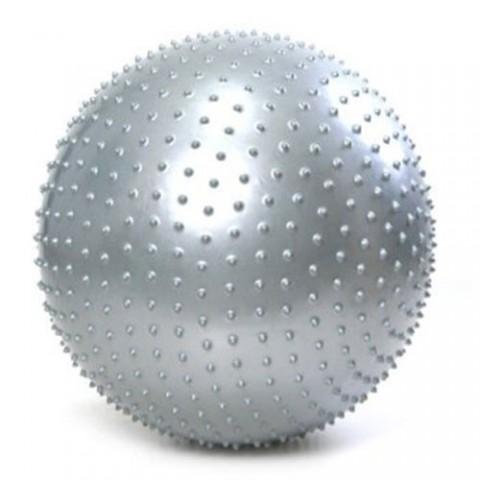 توپ پیلاتس عاج دار مدل Aerobic Ball قطر 25 سانتی متر سایز S رنگ طوسی