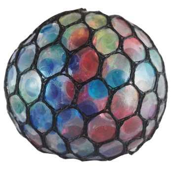 توپ بازی ضد استرس مدل Large Gel Bullets Mesh Squish Ball