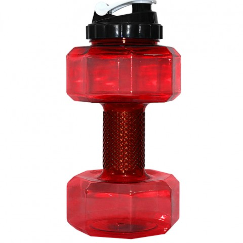 قمقمه دمبلی مدل PRO ظرفیت 2.2 لیتر رنگ قرمز