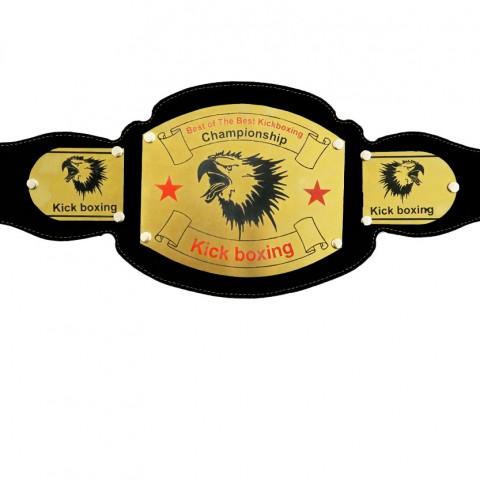کمربند قهرمانی برنجی Kick Boxing طرح C