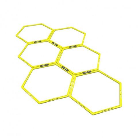 حلقه چابکی شش ضلعی Powergym
