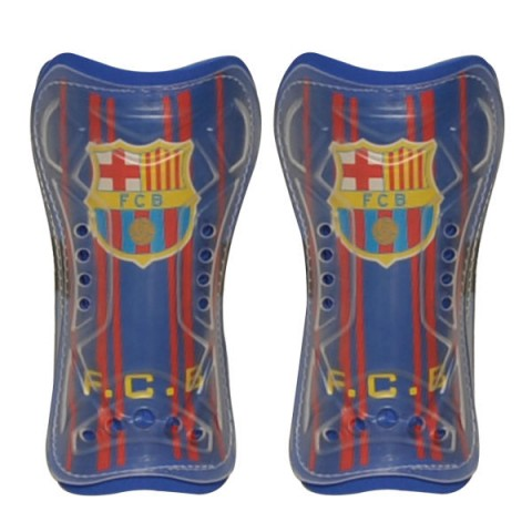 ساق بند فوتبال مدل بارسلونا بسته 2 عددی