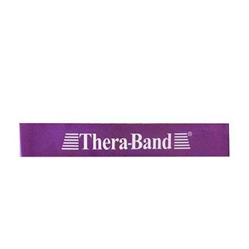 کش پیلاتس مینی لوپ حرفه ای ترابند Thera-Band رنگ بنفش