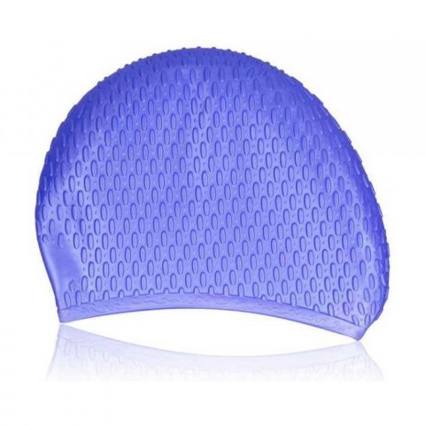 کلاه شنای اسپیدو مدل SILICONE CAP رنگ آبی