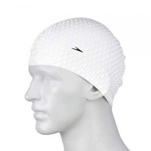 کلاه شنای اسپیدو مدل SILICONE CAP رنگ سفید
