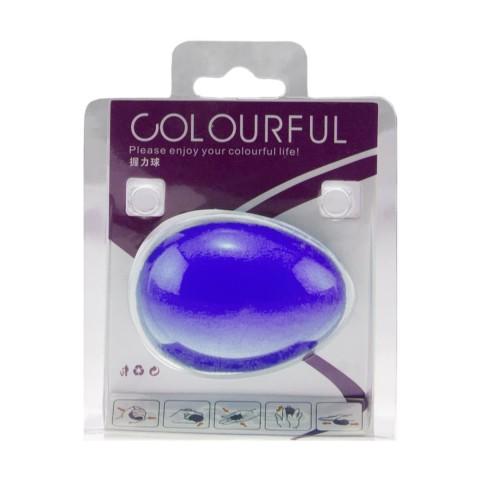 توپ تقویت مچ تخم مرغی COLOURFUL رنگ آبی