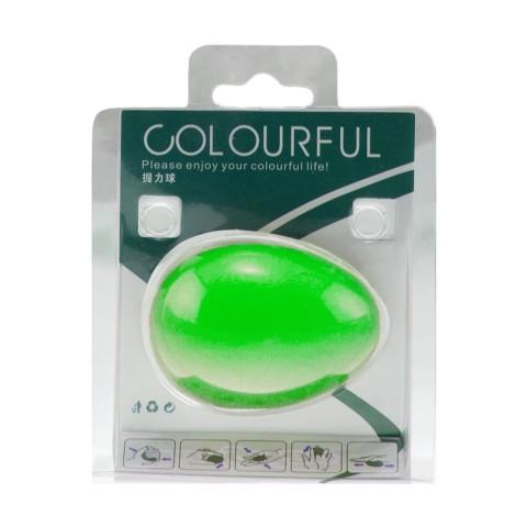 توپ تقویت مچ تخم مرغی COLOURFUL رنگ سبز