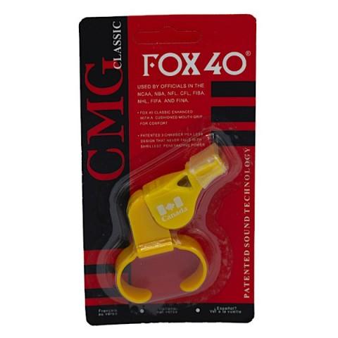 سوت ورزشی FOX 40 رنگ زرد