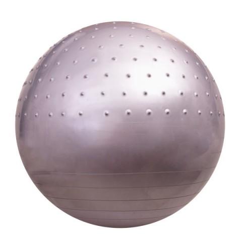 توپ بدنسازی نیم خار GYM BALL رنگ طوسی قطر 75cm