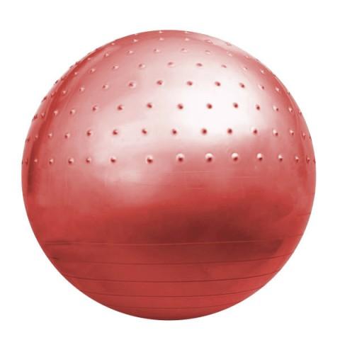 توپ بدنسازی نیم خار GYM BALL رنگ قرمز قطر 75cm