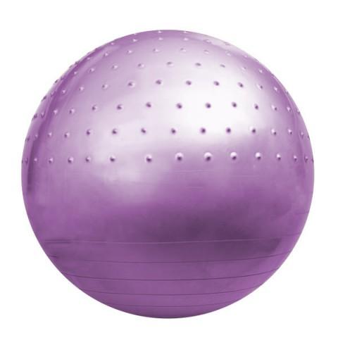 توپ بدنسازی نیم خار GYM BALL رنگ بنفش قطر 85cm