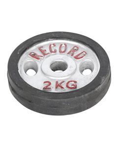 وزنه دمبل رکورد وزن 2 کیلوگرم بسته 2 عددی