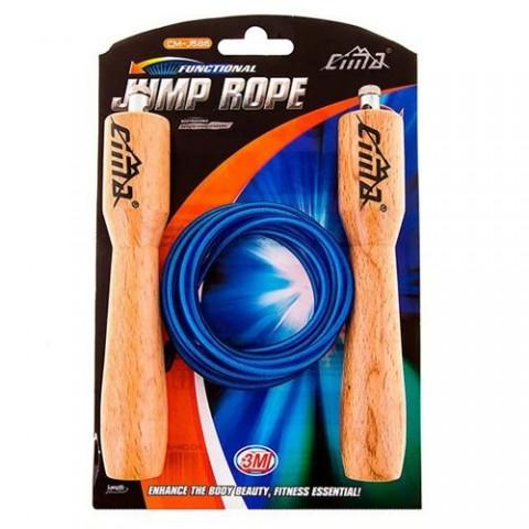 طناب ورزشی دسته چوبی مدل Cima