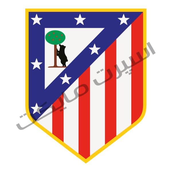 دانلود لوگو ( آرم ) باشگاه اتلتیکو مادرید Atletico Madrid logo
