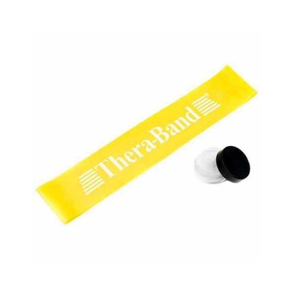 کش بدنسازی پیلاتس پاور مینی لوپ ترابند Super Light|زرد