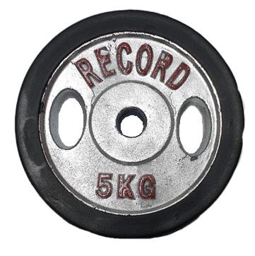 وزنه هالتر 5 کیلوگرمی رکورد بسته دو عددی