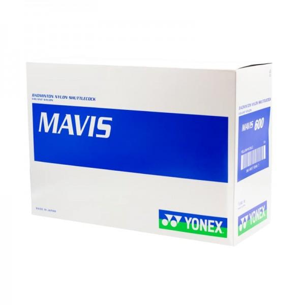 توپ بدمینتون یونکس مدل Mavis 600 بسته 10 عددی